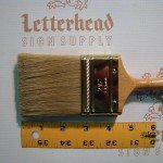"""Cutter Brushes Double Series-5880 size 2-1/2"""""""