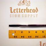 "Flat Lettering Brushes ""Jet Stroke"" series-1962 size 1/4"""