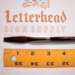 "Flat Lettering Brush ""Soft Stroke"" Brown series-1992 size 3/8"""