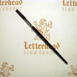 "Flat Lettering Brushes ""Jet Stroke"" series-1962 size 1/2"""