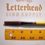 "Flat Lettering Brush Grey Stroke series-1932 size 1/2"""