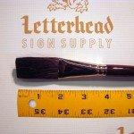 mack brush flat lettering brushes jet stroke series-1962 full set