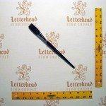 "Flat Lettering Brushes ""Jet Stroke"" series-1962 size 3/4"""