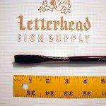 "Flat Lettering Brushes ""Jet Stroke"" series-1962 size 3/8"""