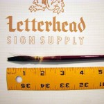 Lettering Quill Brown Squirrel Size 11 Series 179L