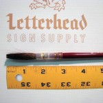 Lettering Quill Brown Squirrel Size 14 Series 179L