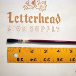 Lettering Quill Brown Squirrel Size 2 Series 179L