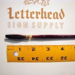 Lettering Quill Brown Squirrel size 8 series 179L