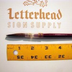 Lettering Quill Brown Squirrel size 9 series 179L