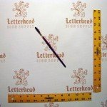 Lettering Quill Brown Squirrel size 5 series 179L