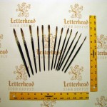 Lettering Quill brush grey series 189L Full Set