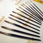 Lettering Quill brush grey series 189L Full Set