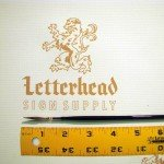 Lettering Quill brush grey series 189L size 0