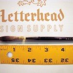 Lettering Quill brush grey series 189L size 7