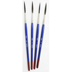 Bobbo Super Quad Long Handled Pinstriping Brushes series 7800