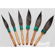 Dagger Pinstripe Brushes by Mack Brush