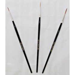 Series 522 Red Sable Mack Brushes