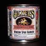 Gilders Window Spar Varnish quart