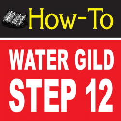 Water Gilding Step By Step Part 12