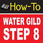 Water Gilding Step By Step Part 8