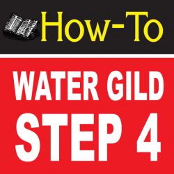 Water Gilding Step By Step Part 4