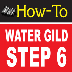 Water Gilding Step By Step Part 6