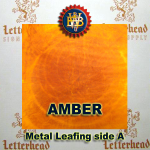 Variegated Metal Leaf-Amber Leafing