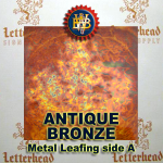 Variegated Metal Leaf-Antique Bronze 20 book Pack