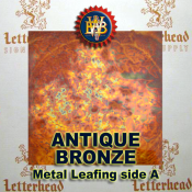 Antique Bronze-Variegated Leaf