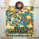 Variegated Metal Leaf-Blue Harbor book
