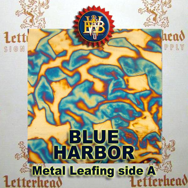 Variegated Metal Leaf-Blue Harbor 20 Book Pack