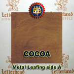 Variegated Metal Leaf-Cocoa 20 Book Pack