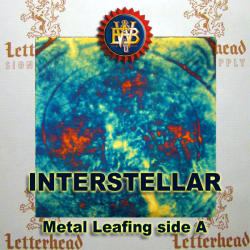 Interstellar Variegated Metal Leaf
