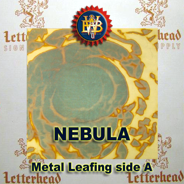 Variegated Metal Leaf-Nebula 1 book