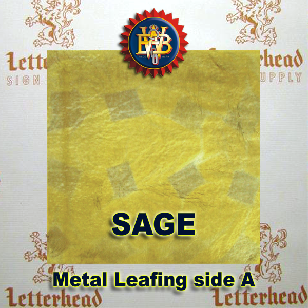 Variegated Metal Leaf-Sage 20 book Pack