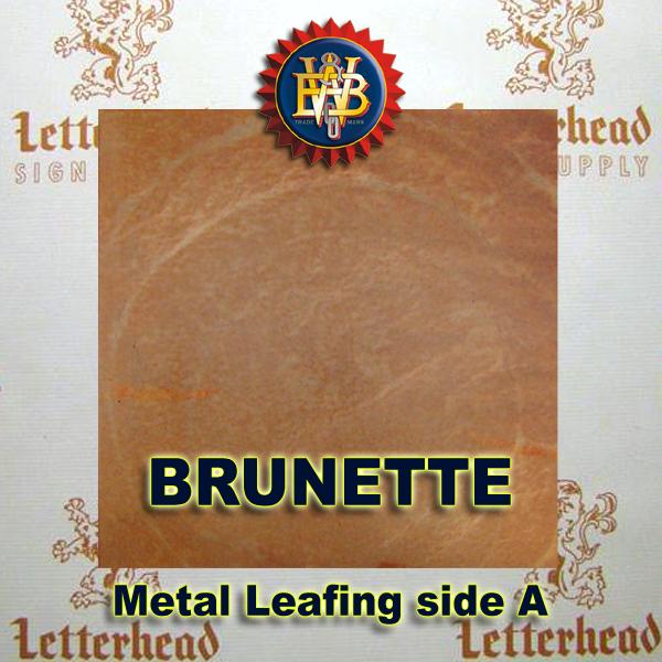 Variegated Metal Leaf-Brunette 20 Book Pack