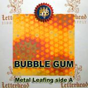 Bubble Gum Variegated Metal Leaf