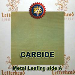 Carbide Variegated Metal Leaf