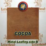 Variegated Metal Leaf-Cocoa book