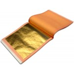 WB 24kt-Fine-Pure Gold-Leaf Patent-Book