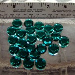 Emerald Crystal Sign Jewels 15mm