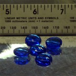Sapphire Crystal Sign Jewels 15mm