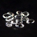 Clear Crystal Oval Sign Jewels 14x10