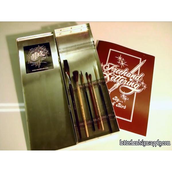 Hand Letter Brush Kit Standard