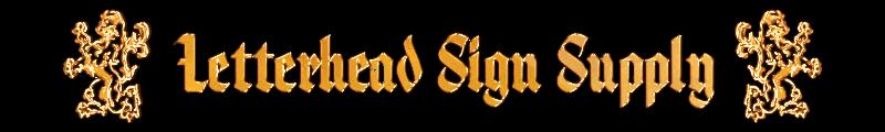 Letterhead Sign Supply