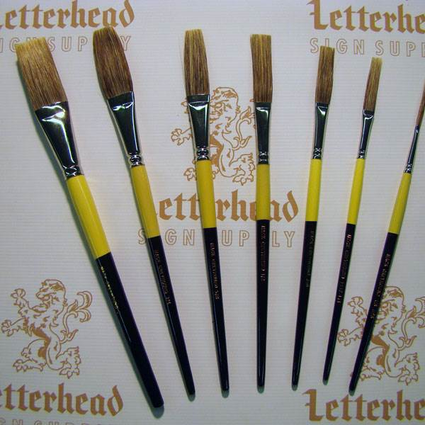 sign painting brushes sign painter lettering brushes