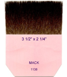 Gilders Tip Brushes by Mack Brush