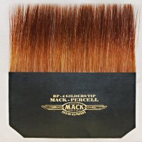 Gold Leaf Gilders Tip Brushes by Ron Percell-Mack Brush